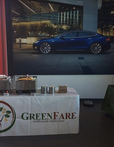 GreenFare Caters for Tesla