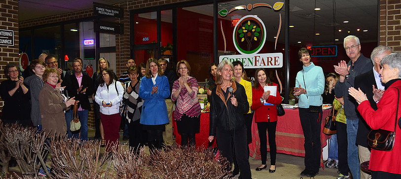 GreenFare Grand Opening - Gwyn Speaking