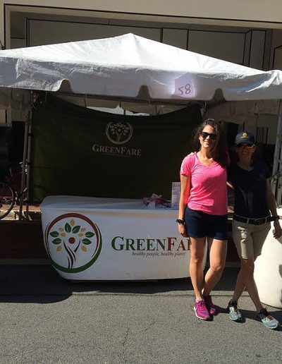 GreenFare at Local Yoga Festival