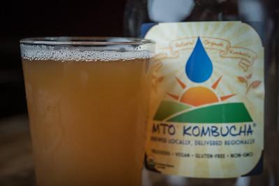 MTO Organic Kombucha - GLASS