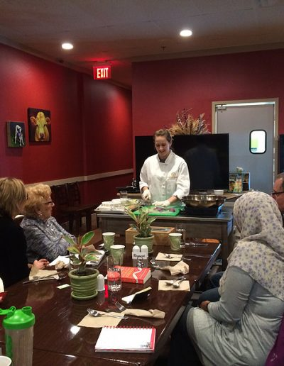 One of Our KickStart Cooking Classes