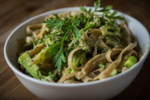 Organic Broccoli Pesto Pasta
