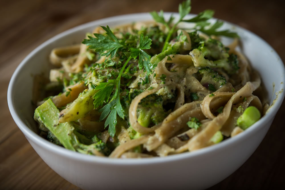 Organic Broccoli Pesto Pasta