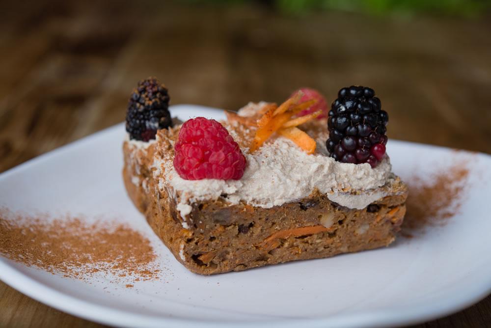 Organic China Study Carrot Cake
