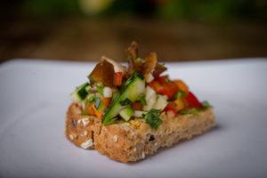 Organic Hummus Plate