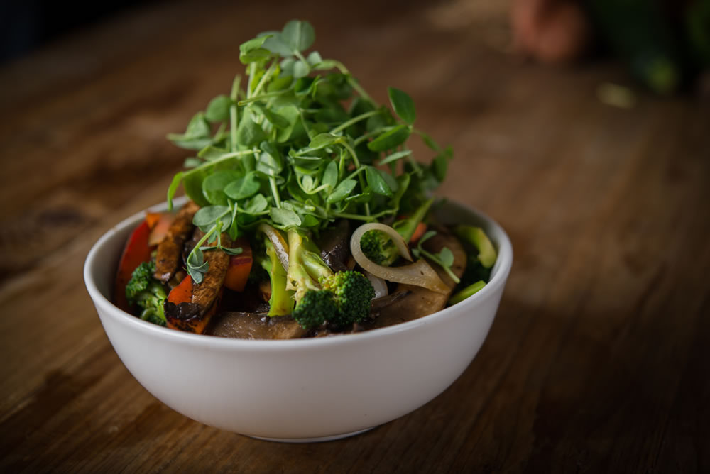 Organic Portobello Ginger Stir-fry Bowl