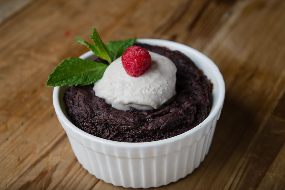 Organic Red Bean Lava Cake