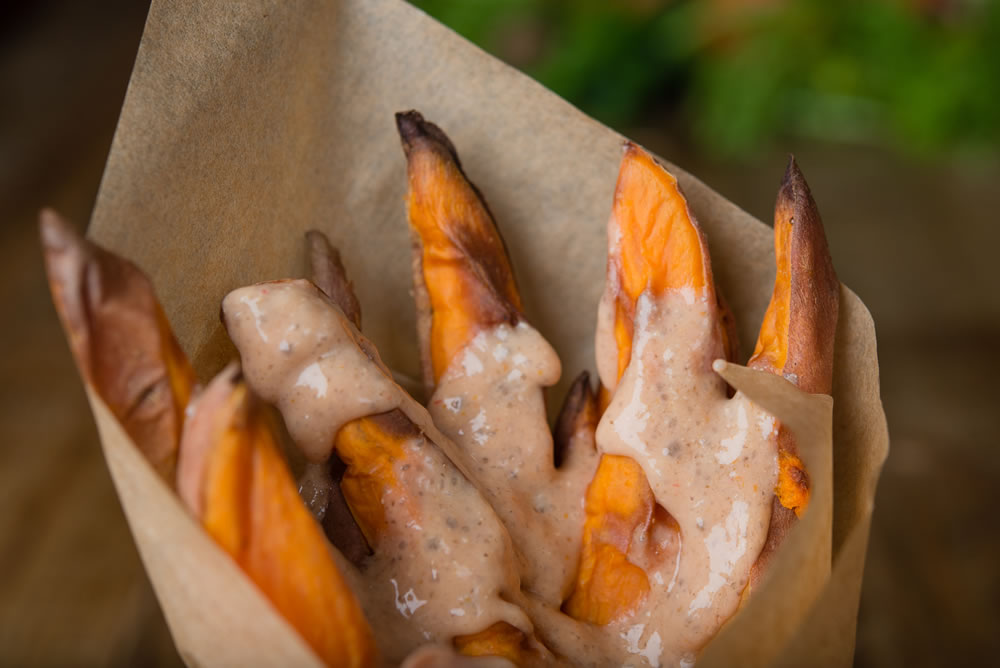 Organic Sweet Potato Fries with Chipotle Sauce