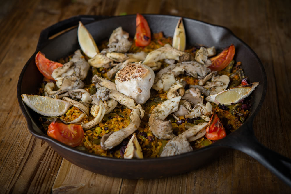 Organic Veggie Paella - FOR TWO