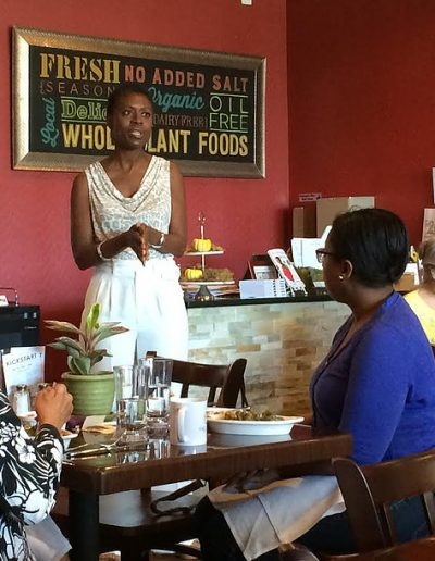 Tracye Mcquirter Speaks at GreenFare