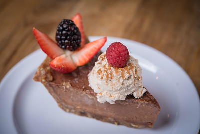 Organic Chocolate Nut Pie