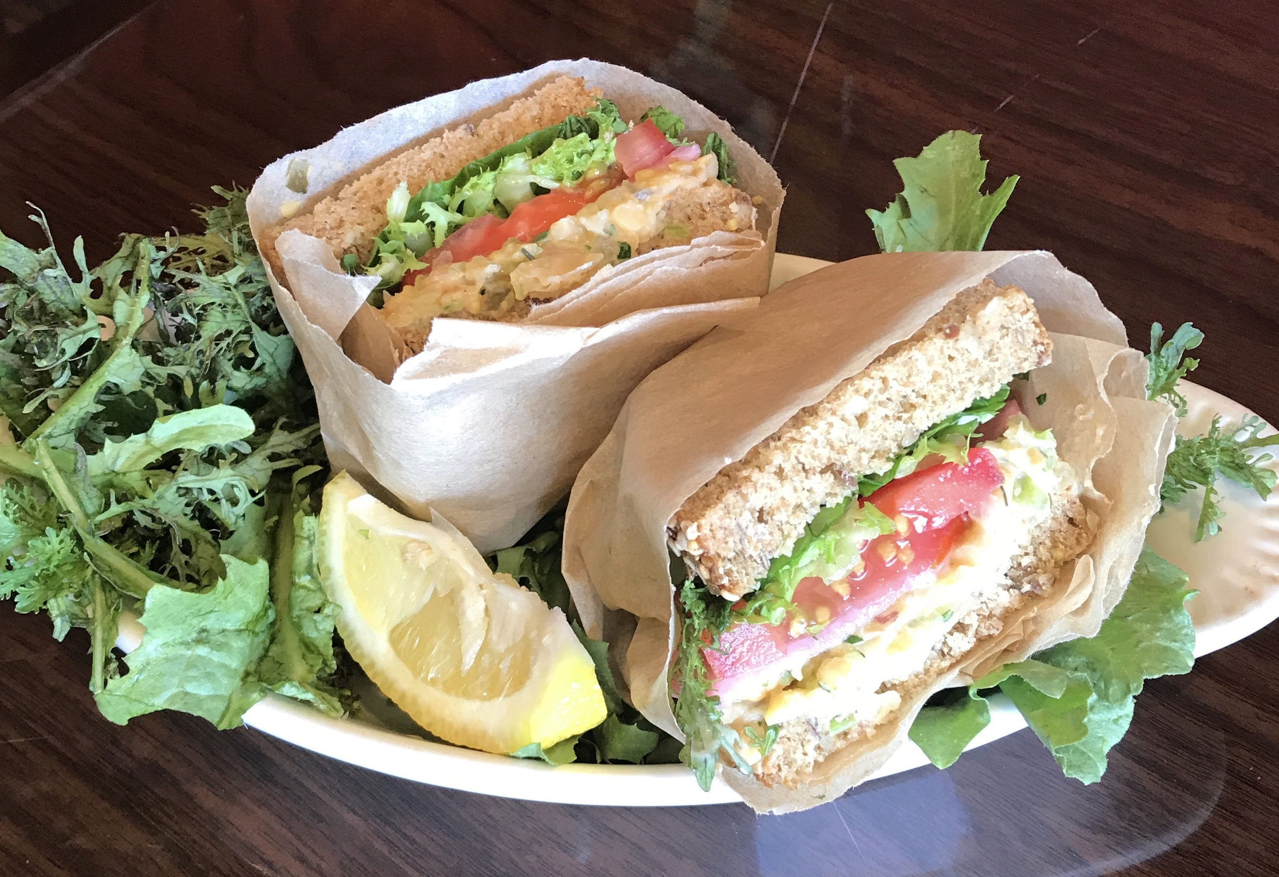Organic Organic Tuna-less Salad Sandwich