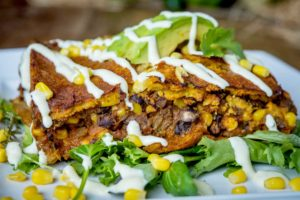 Organic Black Bean Enchilada
