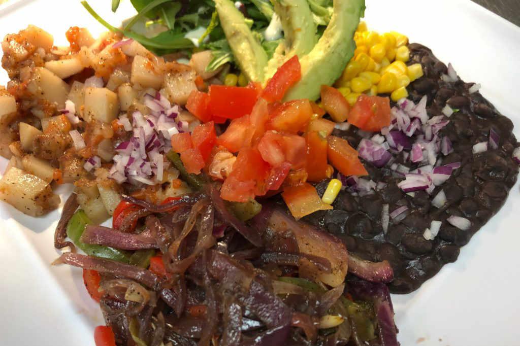 Organic Latino Fusion Plate