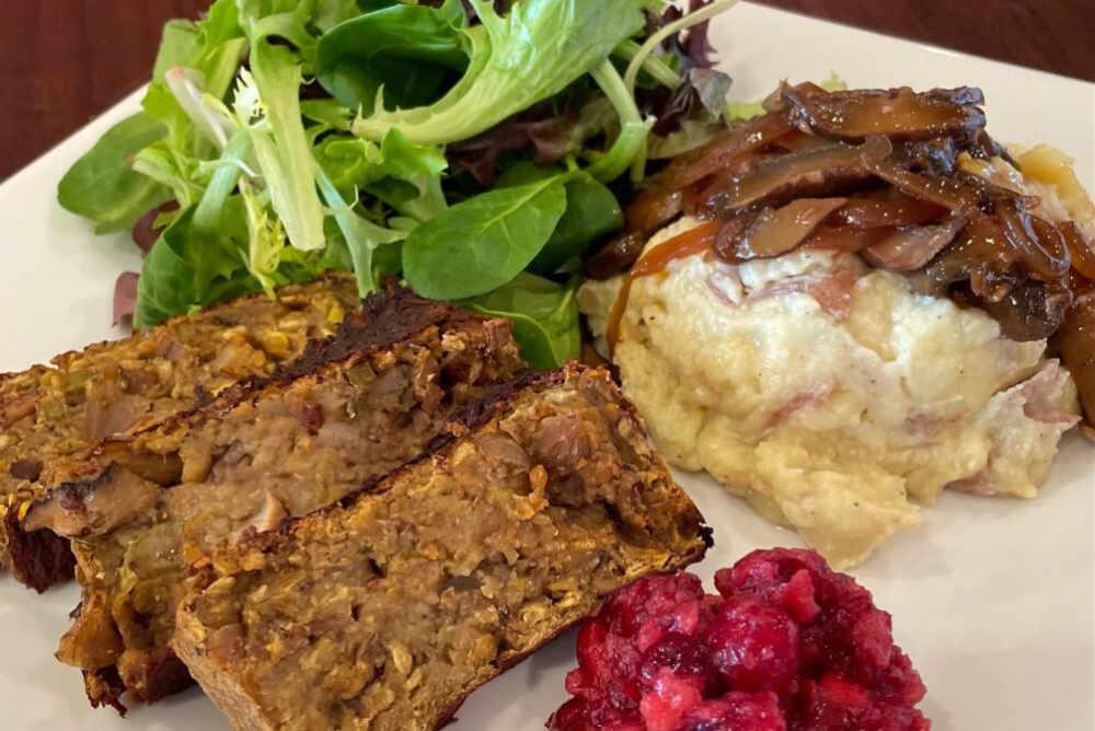 Organic Walnut Lentil Loaf